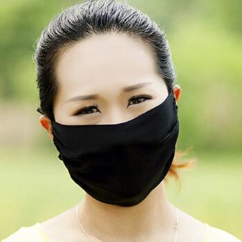 二層マスクが超大きく、女性用マスクの日焼止め空気を通して、防塵の幅が広く、黄色いA黒色が洗えます。