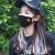 新商品のネットの赤い黒色のマスクの男性の湿っているタイプの個性の韓国版の女性の秋の冬の焼け止めの防塵は空気を洗って空気を通します。