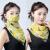 夏の日やけ止めシルクマフラーマフラーマフラー大マスク女性用首カバー顔全体紫外線カットシフォン薄いベールチューリップ
