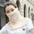 夏の日や止めマスク女性通気ケアネク夏マスク全颜アイマススク薄い手タイプロの花々ピンク
