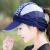 日焼止め顔カバー子供夏は顔速乾太陽帽夜光折りたたみ帽子日焼止め面紗男式ビーチキャップ紫が調節できます。