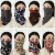 マスクの女性冬の防塵空気を通す韓国版のかわいい首をかばって顔を遮ってマスクをして呼吸しやすい綿のマスクの保温防風の秋冬のマスクはその字母を押さえます【保温マスク】