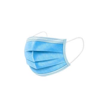 マスク大人子供用保護マスク3階通気性夏防塵日焼け止めマスク50枚【お得な価格超過セット】大人用ブルー500袋入り